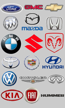 Auto brands that we service and repair